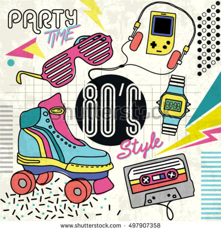 80ies clipart - clipground