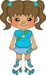 clipart clip skates cliparts cartoon boy skate models background summer clipground drawings koala primary printable computer coloring dolls bears