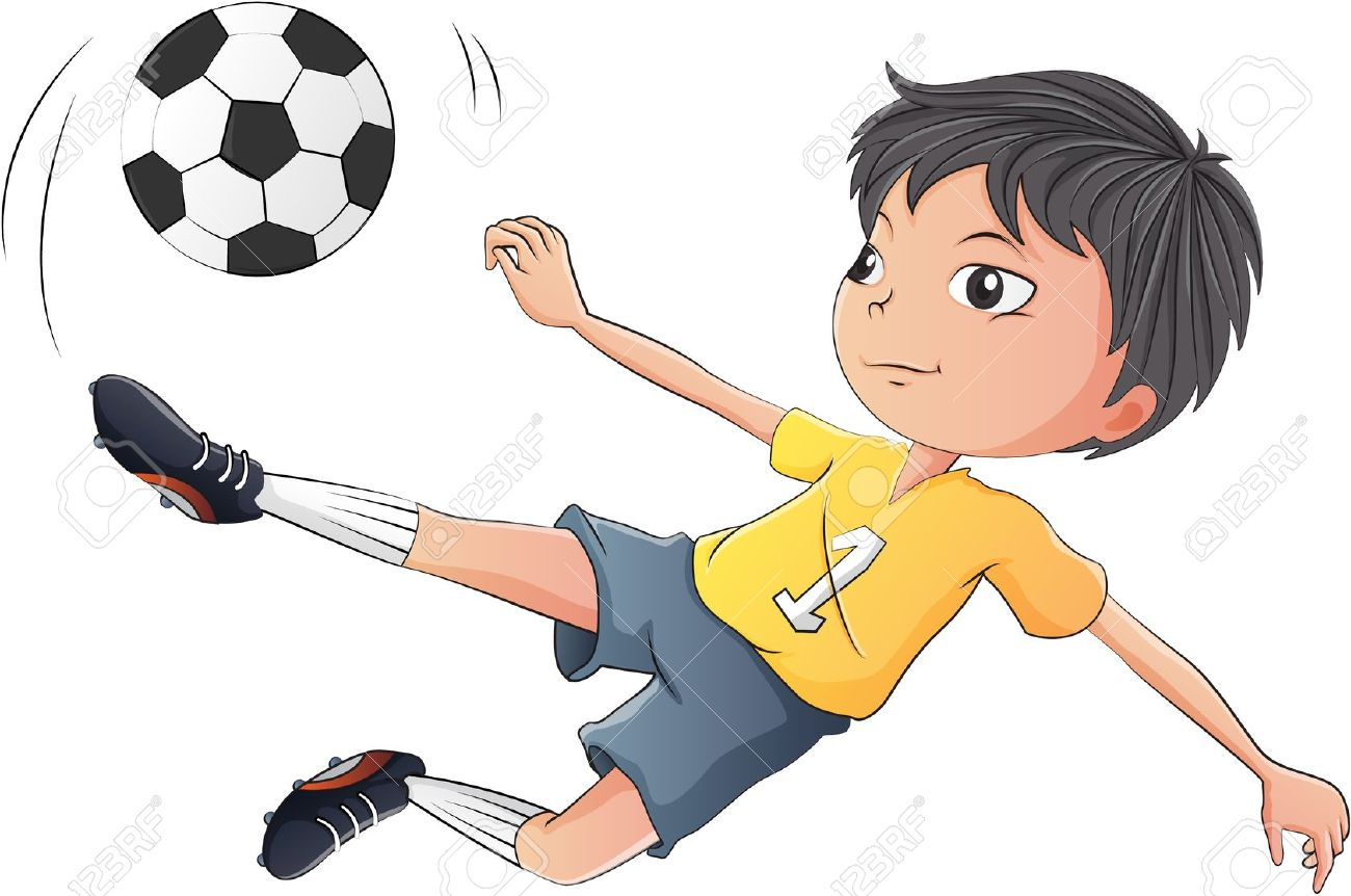 hight resolution of 1 027 kids playing football stock illustrations cliparts and