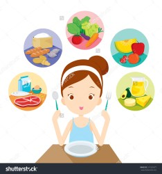 healthy clipart diet eating clip cliparts clipground