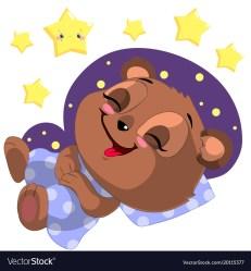 bear sleeping cartoon clipart clipground