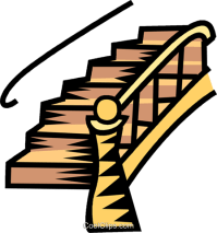 Stairs clipart - Clipground