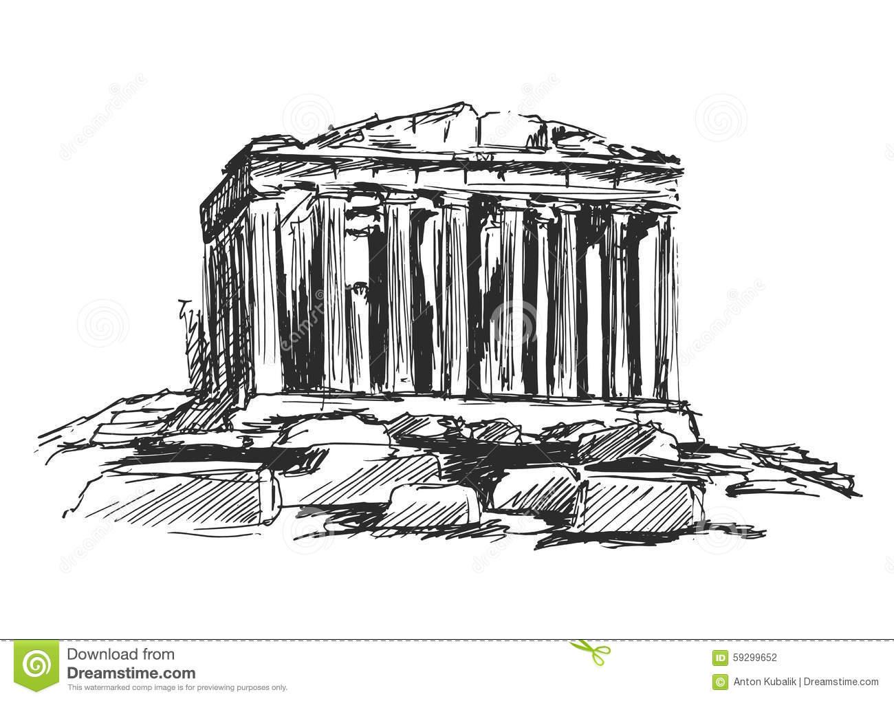 Acropolis Clipart