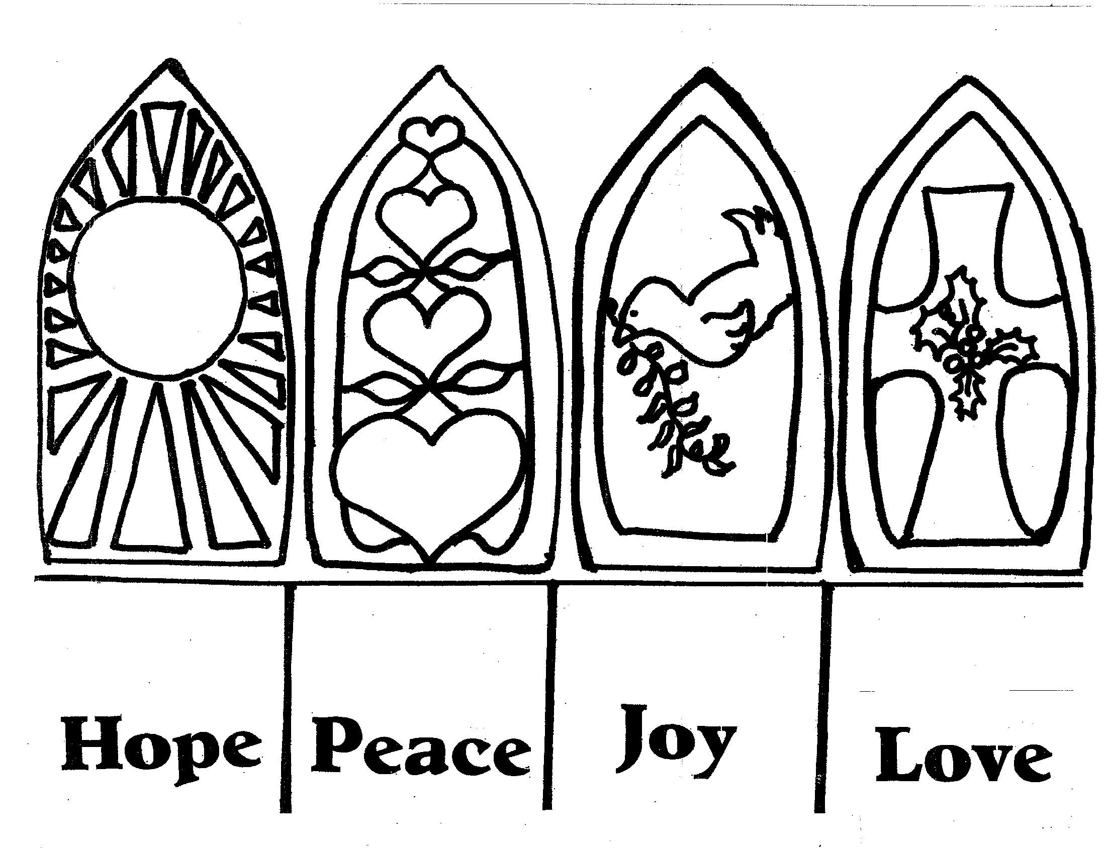 Advent Clipart Black And White