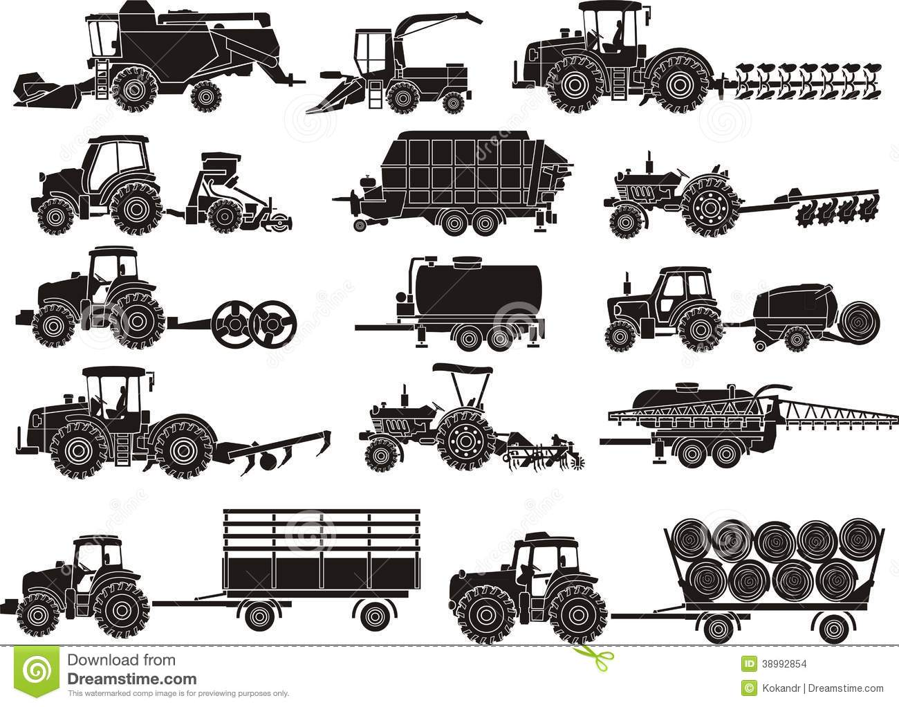 Agricultural Machine Clipart