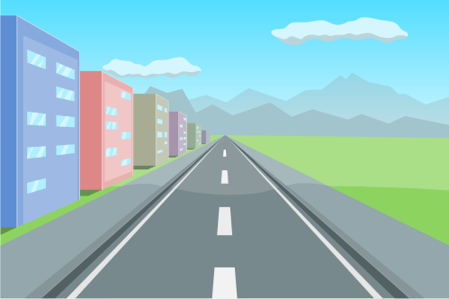 small resolution of road clipart