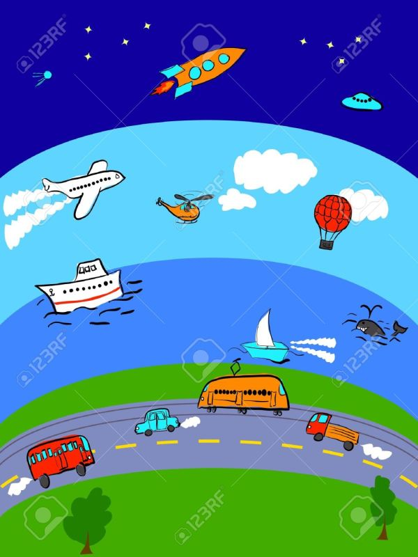 Air And Space Clipart - Clipground