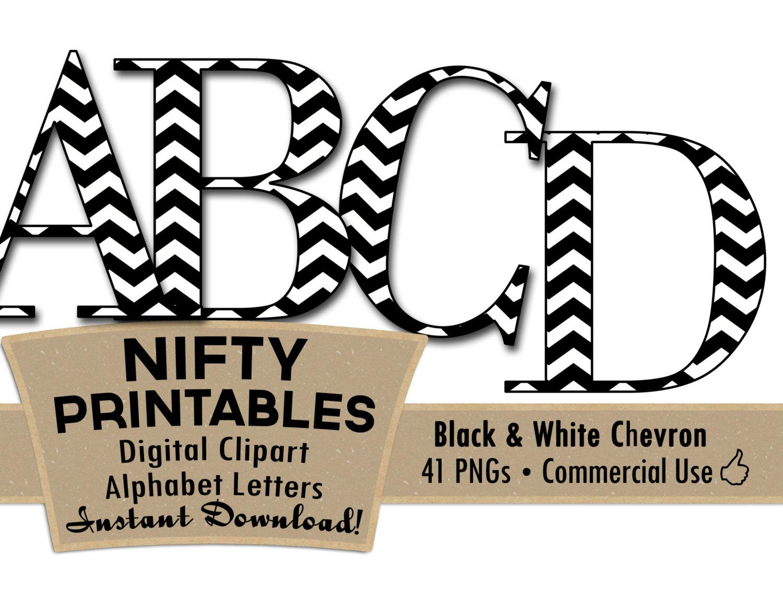 Alphabet Letter Clipart Black And White