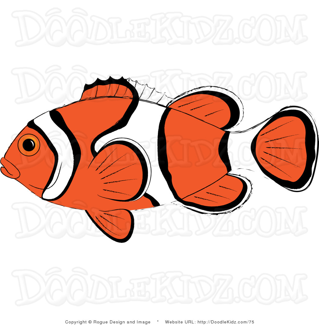 Anemone Fish Clipart