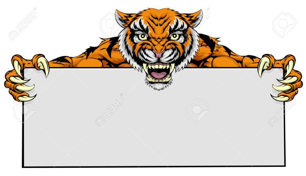 medium resolution of 24 871 tiger stock vector illustration and royalty free tiger clipart