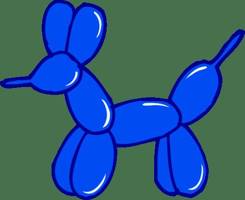 small resolution of animal balloon clipart 5