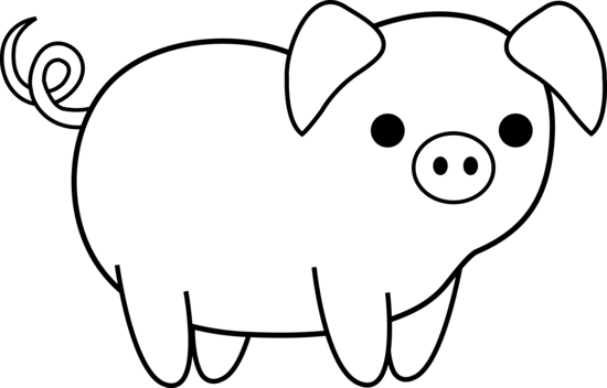 animal clipart with transparent background blsck and white