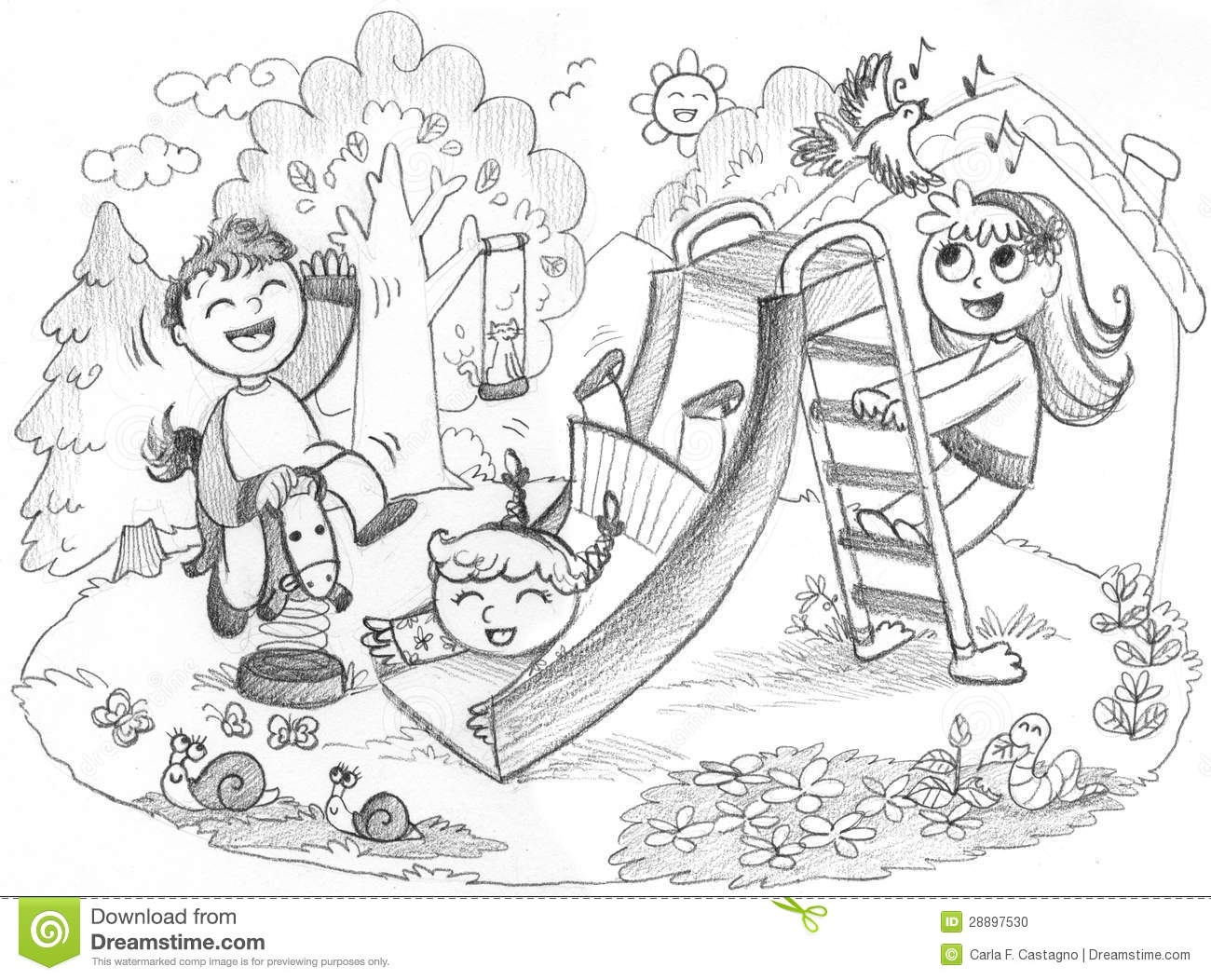 animal shelter building outside clipart black and white