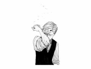 sad depression anime smoking drawings sadness boy aesthetic drawing animesad animeboy clipart depressing clip clipground library