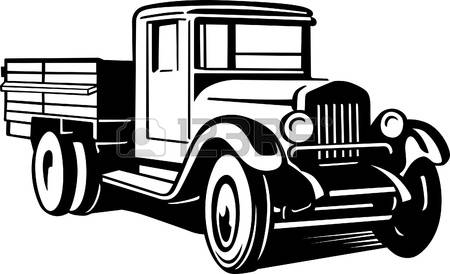 Vintage Truck Clipart Clipground