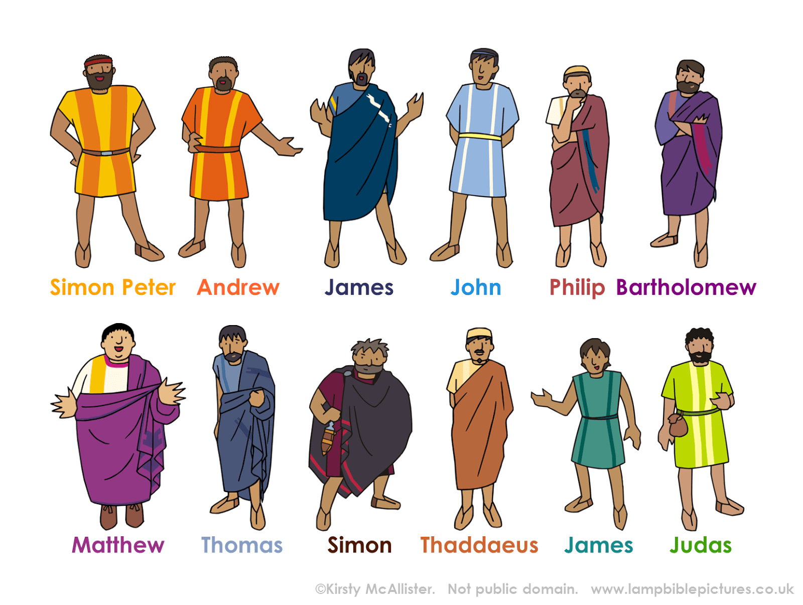 Apostles Clipart Clipground