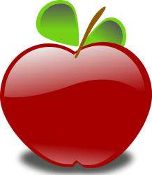 apple transparent background clipart clipground