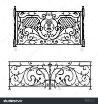 Architecture railing clipart