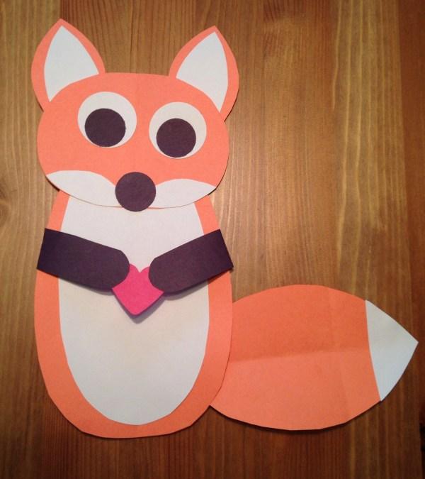 Preschool Fox Crafts Pinterest