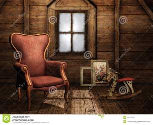 attic clipart royalty illustration clipground illustrations rocking armchair horse site