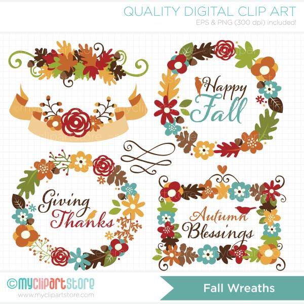 autumn flowers clipart - clipground