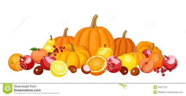 autumn fruit clipart - clipground