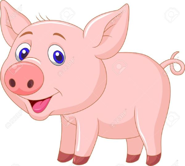 baby piglet clipart - clipground