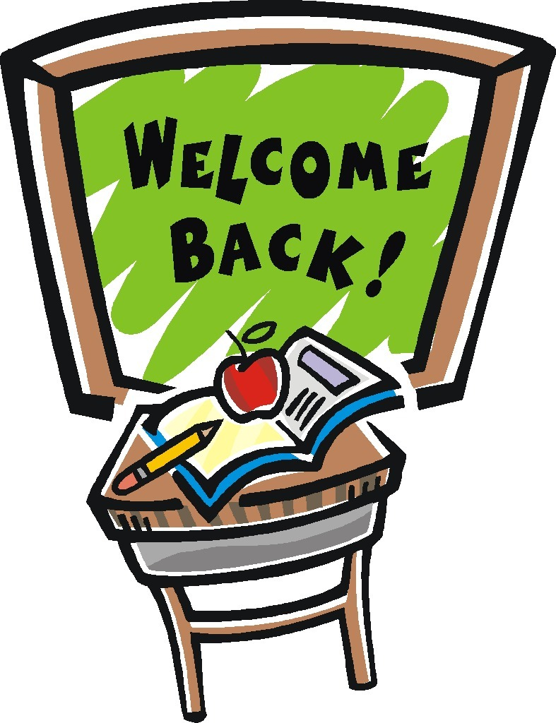 hight resolution of welcome back graphics clipart