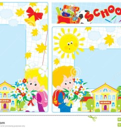 back elementary school clip art free school borders royalty free [ 1300 x 847 Pixel ]