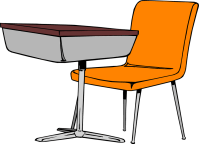 clipart teacher desk - Clipground