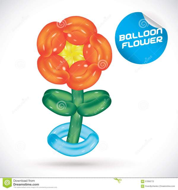 baloon flower clipart - clipground