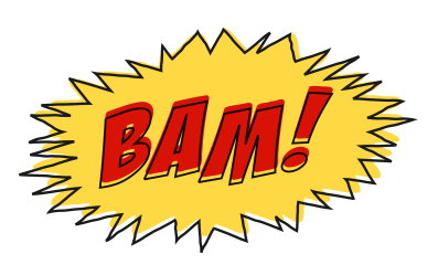 bam comic background sound effect comics clipart effects transparent clip pow word onomatopoeia books cliparts fight transformers random lot svg