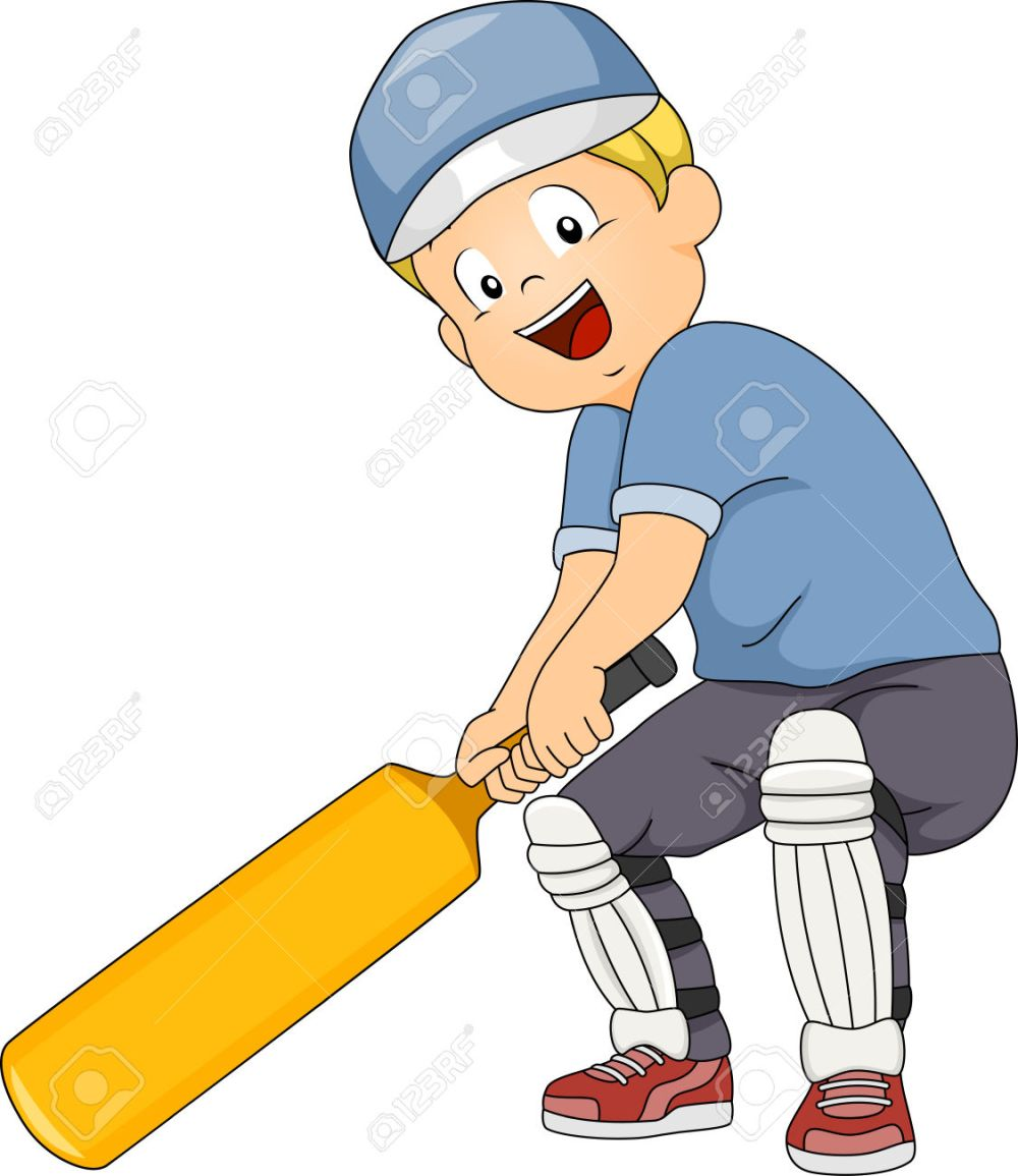 medium resolution of kid baseball batter clipart