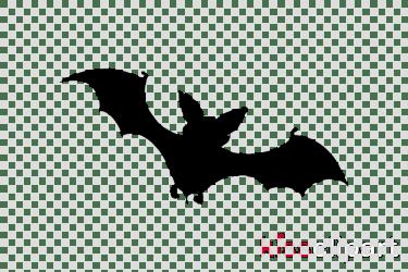 clipart bat transparent cartoon clipground