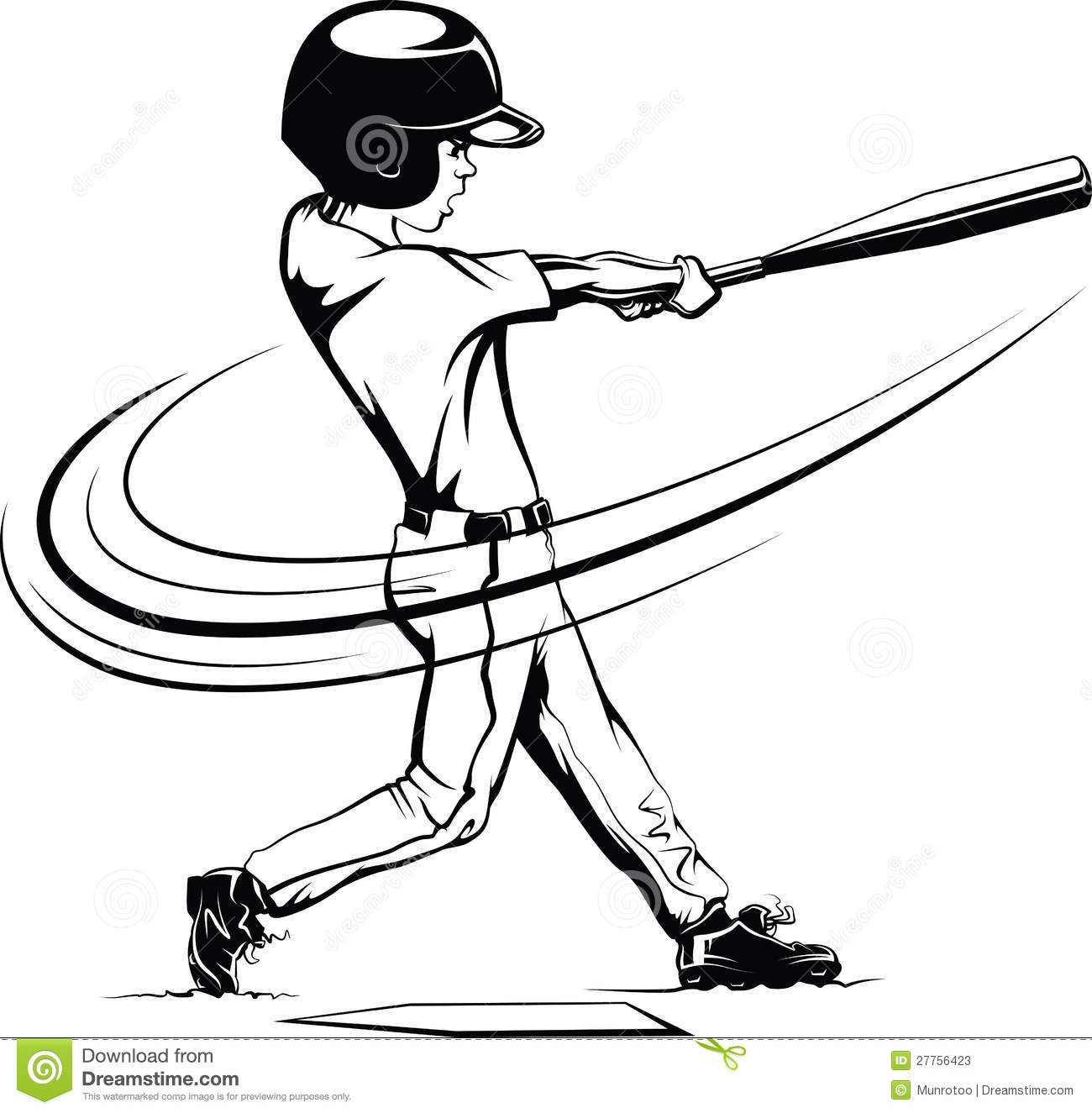 Batting Clipart