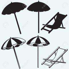Beach Chair And Umbrella Clipart Covers Uae Clipground
