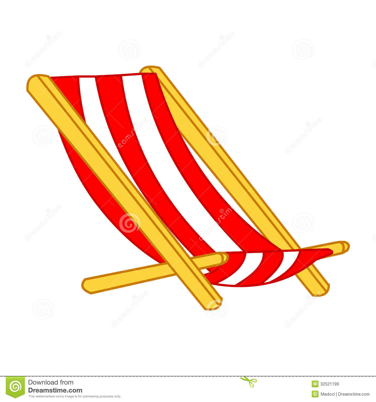 Beach Chair Clips Beach Chair Clipart Clipground
