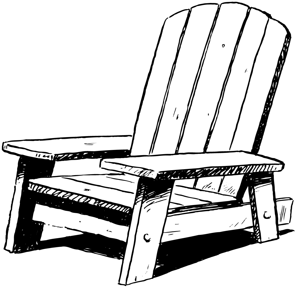 Beach Chair Clipart