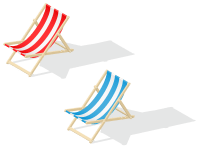 beach chair clipart transparent - Clipground