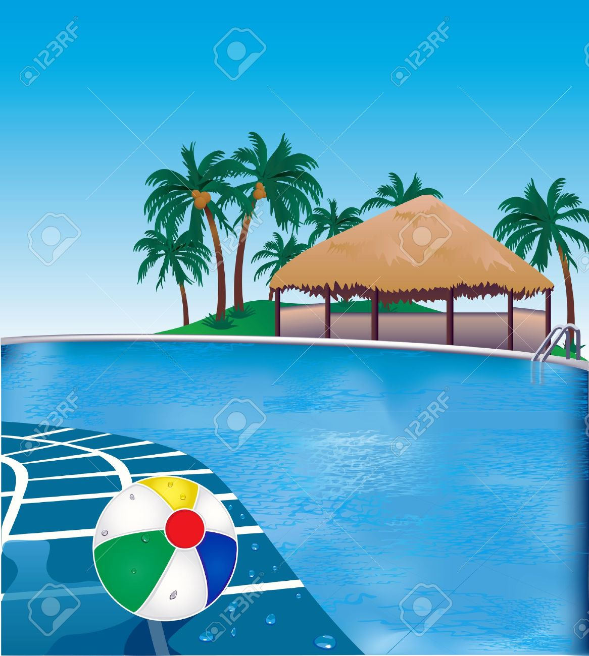 Vacation Clip Art Black And White