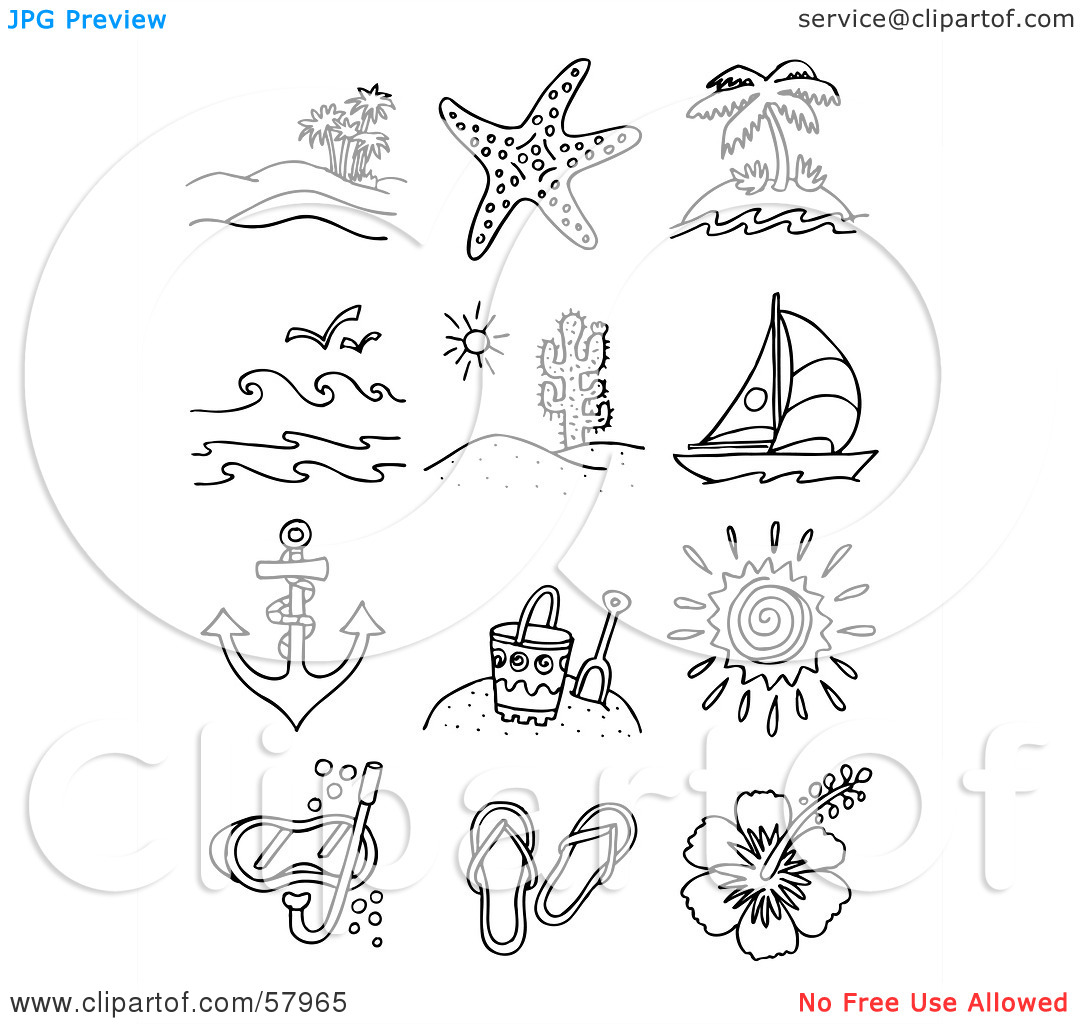 Beach Shop Clipart