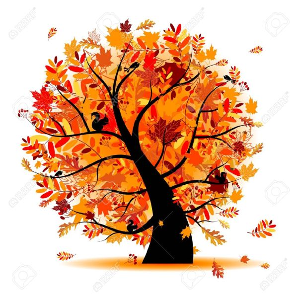 beautiful autumn clipart - clipground