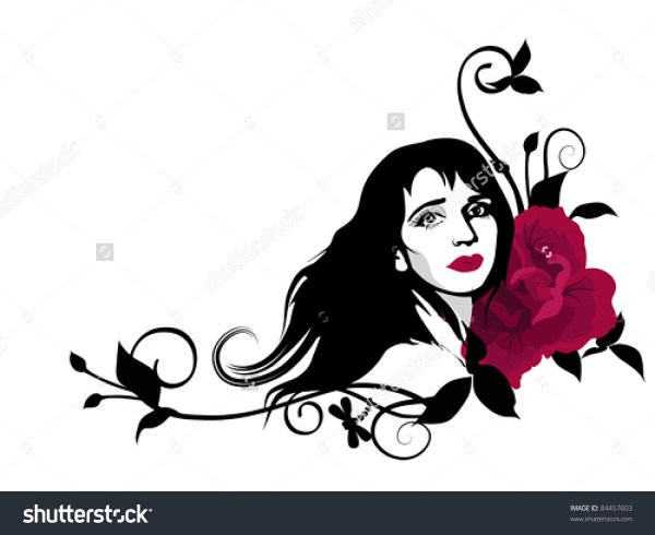 Beautiful Woman Clipart - Clipground
