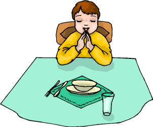 clipart before pray eat clip meal prayer cliparts boy mary last microsoft supper please drawing martha food vancouver getdrawings silhouette