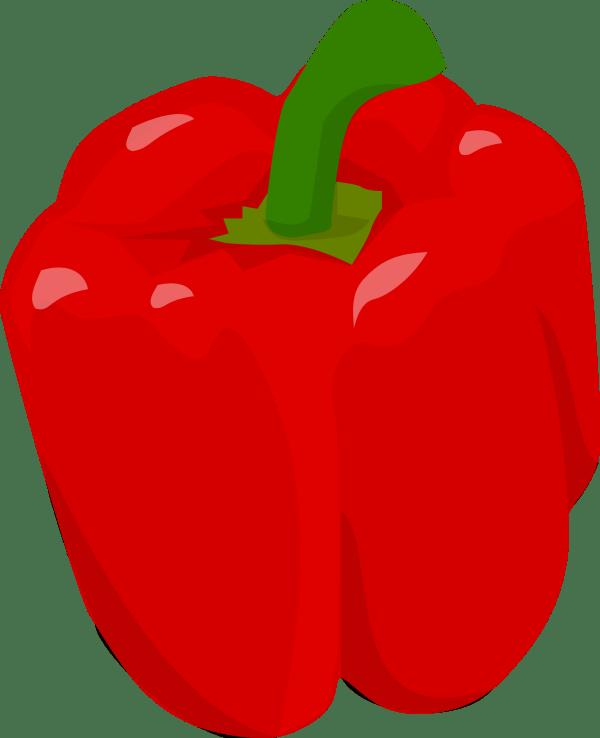 Red Bell Pepper Clip Art