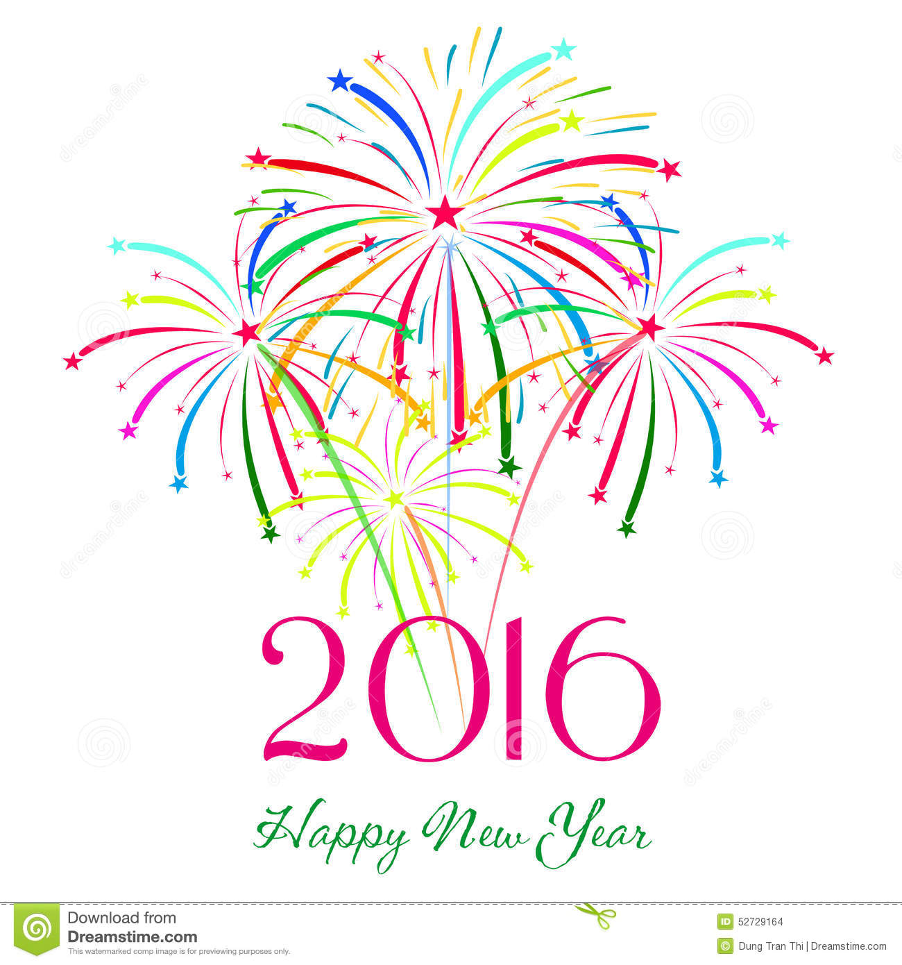 hight resolution of happy new year 2016 with
