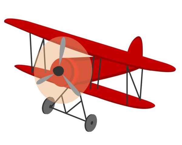 biplane clipart - clipground