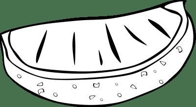 orange clipart slice cliparts clipartpanda clipground