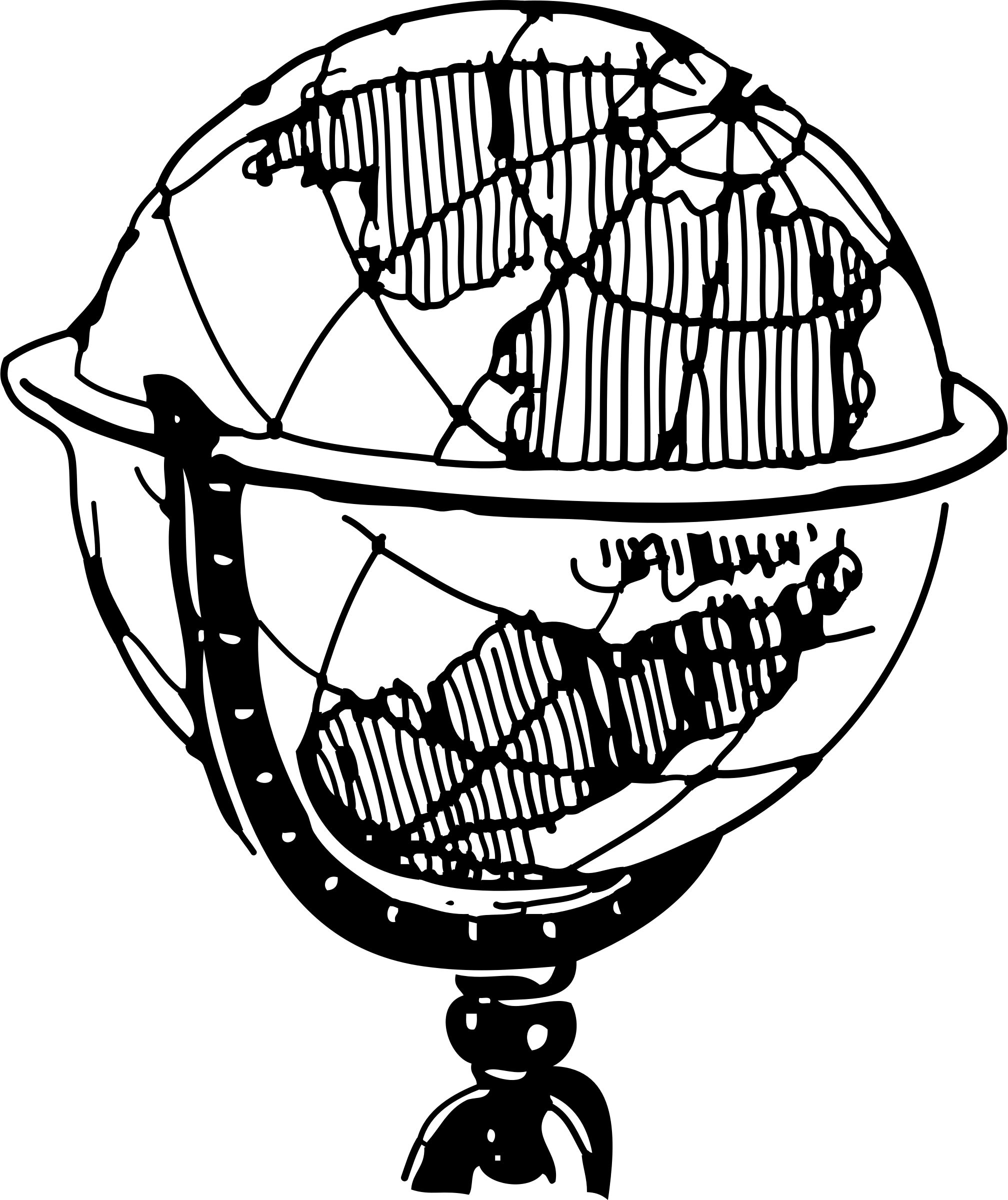 Black And White Clipart Globe 20 Free Cliparts