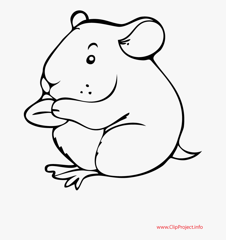 hamster black and white clipart 10 free Cliparts